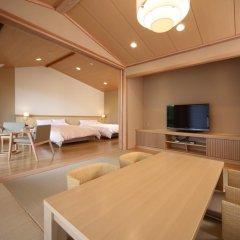 Отель Asagirinomieru Yado Yufuin Hanayoshi 4* Стандартный номер фото 4