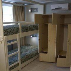 Гостиница Посадский 3* Кровать в мужском общем номере с двухъярусными кроватями фото 48