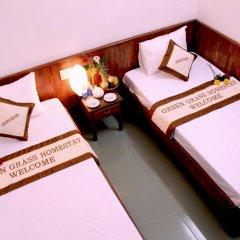 Отель Green Grass Homestay 2* Стандартный номер с 2 отдельными кроватями фото 3