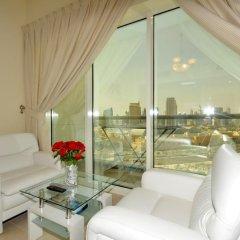 Апартаменты One Perfect Stay Studio Burj Al Nujoom Студия Делюкс с различными типами кроватей фото 10