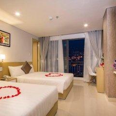 Love Nha Trang Hotel 3* Стандартный семейный номер с двуспальной кроватью фото 3