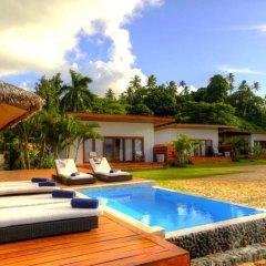 Отель Tides Reach Resort Фиджи, Остров Тавеуни - отзывы, цены и фото номеров - забронировать отель Tides Reach Resort онлайн бассейн фото 2