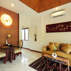 Отель Bhumlapa Garden Resort 3* Вилла Делюкс с различными типами кроватей фото 2