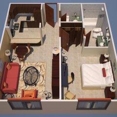 Апартаменты Marriott Executive Apartments Dubai Creek Апартаменты с различными типами кроватей