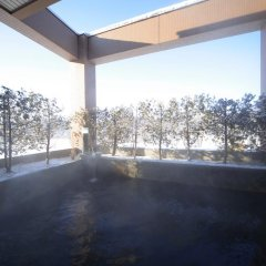 Отель Japanese Auberge Plaza Ryokufu Natural Hot Spring балкон