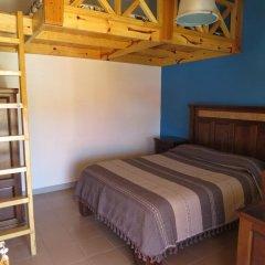 Hotel Ecológico Temazcal Стандартный семейный номер с двуспальной кроватью