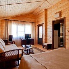 Гостиница Золотая бухта Бунгало с различными типами кроватей фото 4