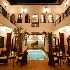 Отель Riad Assakina Марокко, Марракеш - отзывы, цены и фото номеров - забронировать отель Riad Assakina онлайн бассейн фото 2
