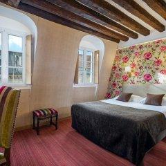 Отель Hôtel Saint Paul Rive Gauche 4* Улучшенный номер с различными типами кроватей фото 11