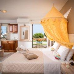 Notos Heights Hotel & Suites 4* Улучшенная студия с различными типами кроватей фото 6