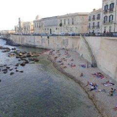 Отель Residence Michelangelo Италия, Сиракуза - отзывы, цены и фото номеров - забронировать отель Residence Michelangelo онлайн пляж фото 2