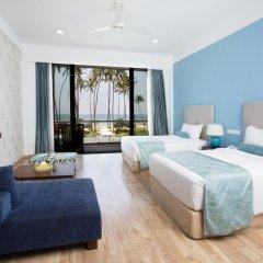 Отель Club Waskaduwa Beach Resort & Spa 4* Улучшенный номер с различными типами кроватей