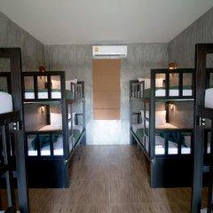 Blanco Hostel at Lanta Кровать в общем номере фото 2