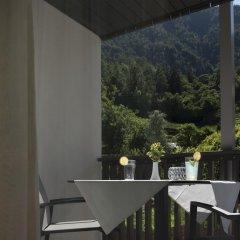 Hotel Unterstein Чермес балкон