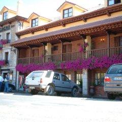 Отель Hosteria Peña Sagra парковка