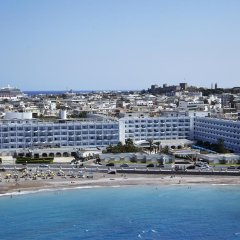 Mitsis Grand Hotel Rhodes пляж фото 2