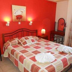 Отель Niki's Pension Родос комната для гостей