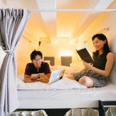 Matchbox The Concept Hostel Кровать в общем номере с двухъярусной кроватью фото 4
