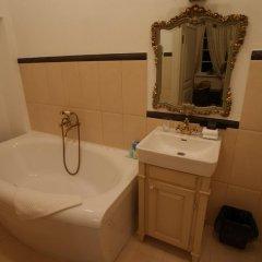 Отель Bistrampolis Manor Литва, Паневежис - отзывы, цены и фото номеров - забронировать отель Bistrampolis Manor онлайн ванная фото 2