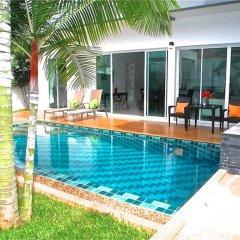 Отель CUBE 3 bedrooms Villa бассейн