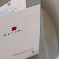 Отель Hôtel De Venise интерьер отеля фото 3