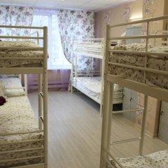 Хостел Ника-Сити Кровати в общем номере с двухъярусными кроватями фото 31