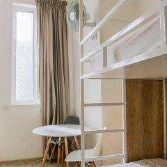 Inhawi Hostel Кровать в общем номере с двухъярусной кроватью фото 14