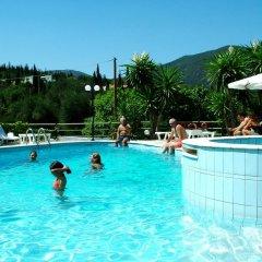 Отель Villa Marinos бассейн