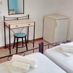 Galini Hotel Стандартный номер с различными типами кроватей фото 15