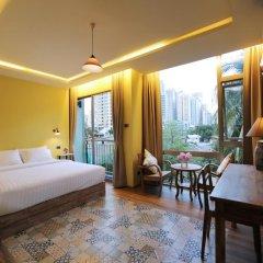 Tints of Blue Hotel 3* Студия Делюкс с различными типами кроватей фото 10