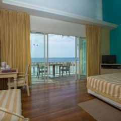 Отель Ellaidhoo Maldives by Cinnamon 4* Бунгало с различными типами кроватей фото 8