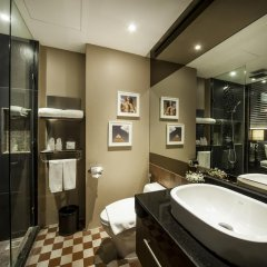 Отель The Continent Bangkok by Compass Hospitality 4* Номер Делюкс с различными типами кроватей фото 12