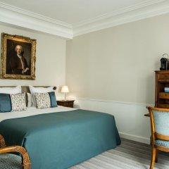 Hotel Des Saints Peres 4* Стандартный номер с различными типами кроватей фото 3