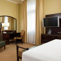 Гостиница Hilton Москва Ленинградская 5* Номер Делюкс с различными типами кроватей фото 12