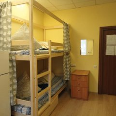 Люси-Отель Кровать в мужском общем номере с двухъярусной кроватью фото 17