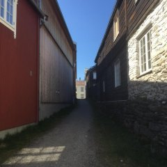 Отель Frøyas Hus парковка