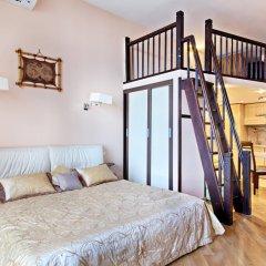 Апартаменты на Бронной Студия разные типы кроватей фото 19