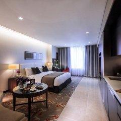 Отель Oakwood Premier Coex Center Улучшенная студия с различными типами кроватей фото 4