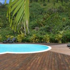 Отель Villa Honu by Tahiti Homes Французская Полинезия, Муреа - отзывы, цены и фото номеров - забронировать отель Villa Honu by Tahiti Homes онлайн бассейн