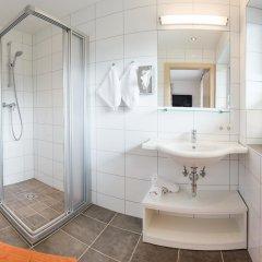 Отель Appartements Tannenhof ванная фото 2