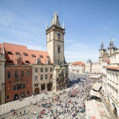 Отель Old Town Square 27 Чехия, Прага - отзывы, цены и фото номеров - забронировать отель Old Town Square 27 онлайн балкон