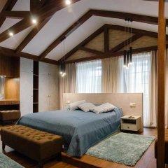 Гостиница Petrani Nivki Люкс с различными типами кроватей фото 2