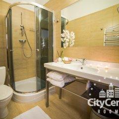 Отель City Center Rooms ванная