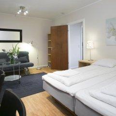 Hotel Copenhagen Apartments 2* Студия с различными типами кроватей фото 6