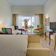 Отель Atrium Prestige Thalasso Spa Resort & Villas 5* Номер Делюкс с различными типами кроватей фото 2