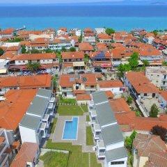 Отель Adonis Village Греция, Пефкохори - отзывы, цены и фото номеров - забронировать отель Adonis Village онлайн пляж