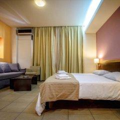 Iraklion Hotel 3* Стандартный номер с различными типами кроватей фото 5