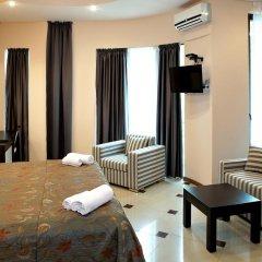 Бутик-отель Корал 4* Стандартный номер с двуспальной кроватью фото 6
