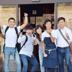 Tonagi Hostel And Cafe Фукуока интерьер отеля фото 2