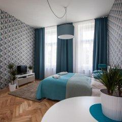 Апартаменты Comfortable Prague Apartments Студия с различными типами кроватей